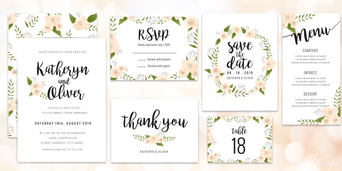 Save the Date! We Print Wedding Stationery